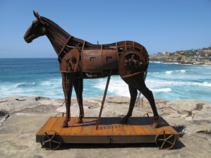 A SUBTERFUGE. Sculpture by the Sea
